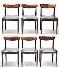 Set of 6 Danish Modern Chairs