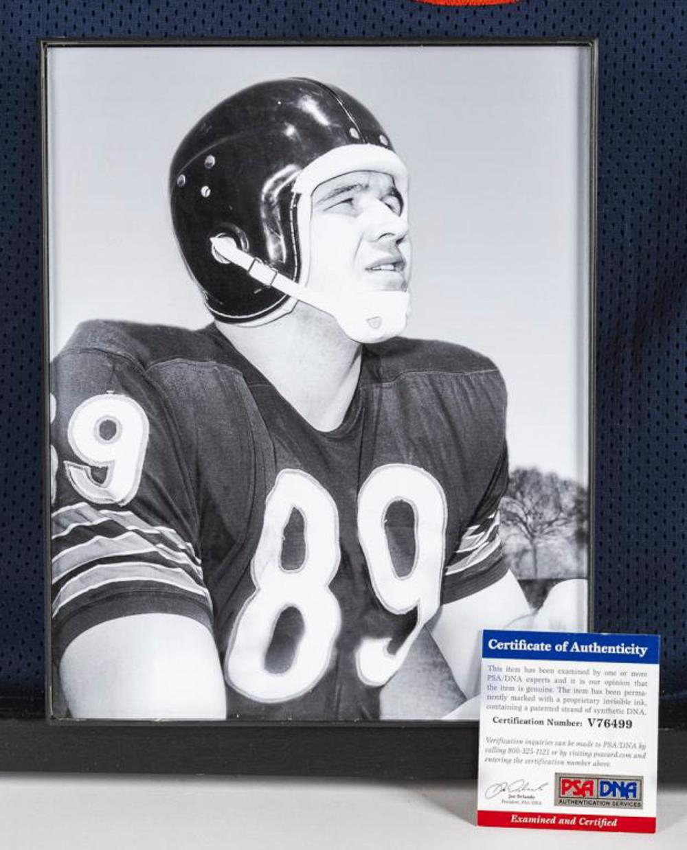 9a9dde5f7d4 Autographed Mike Ditka Football Jersey