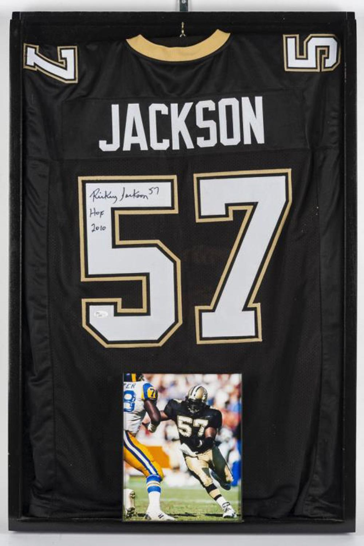 e2420a5a3e7 Autographed Rickey Jackson Football Jersey