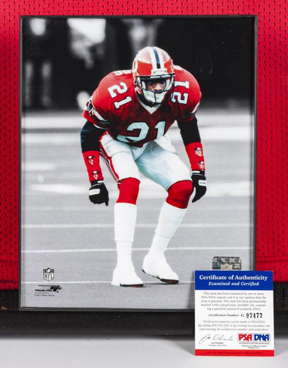 designer fashion 31d67 6014d Autographed Deion Sanders Football Jersey