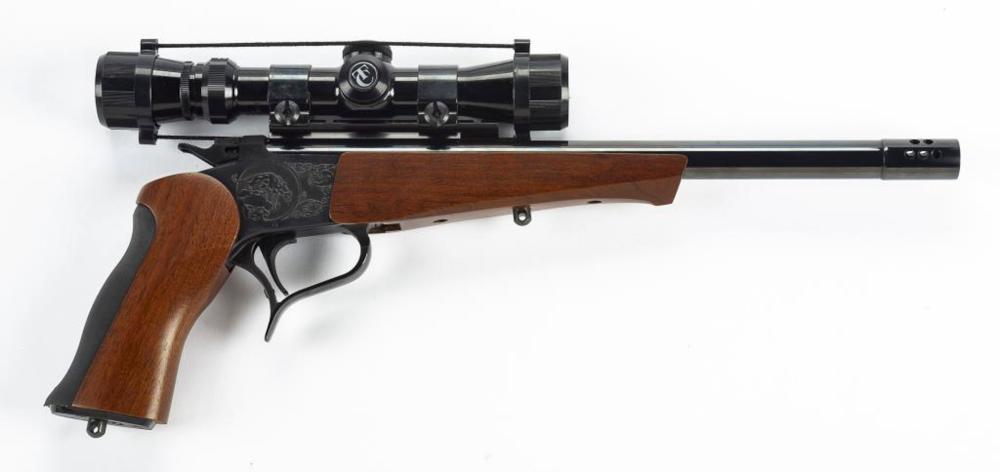 Thompson Center Arms Cal  375 WIN Pistol W/ Scope