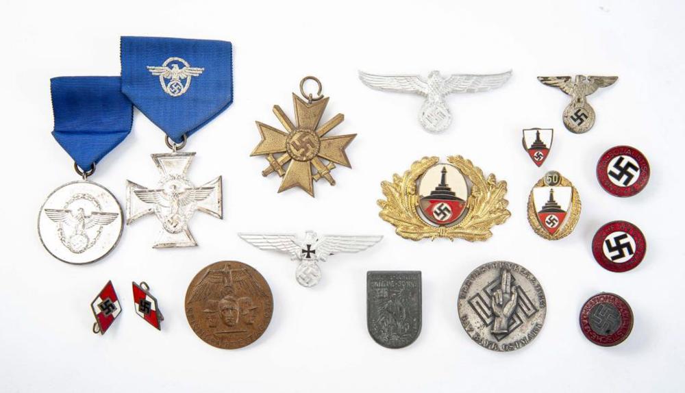 World War II German Nazi War Trophy Grouping