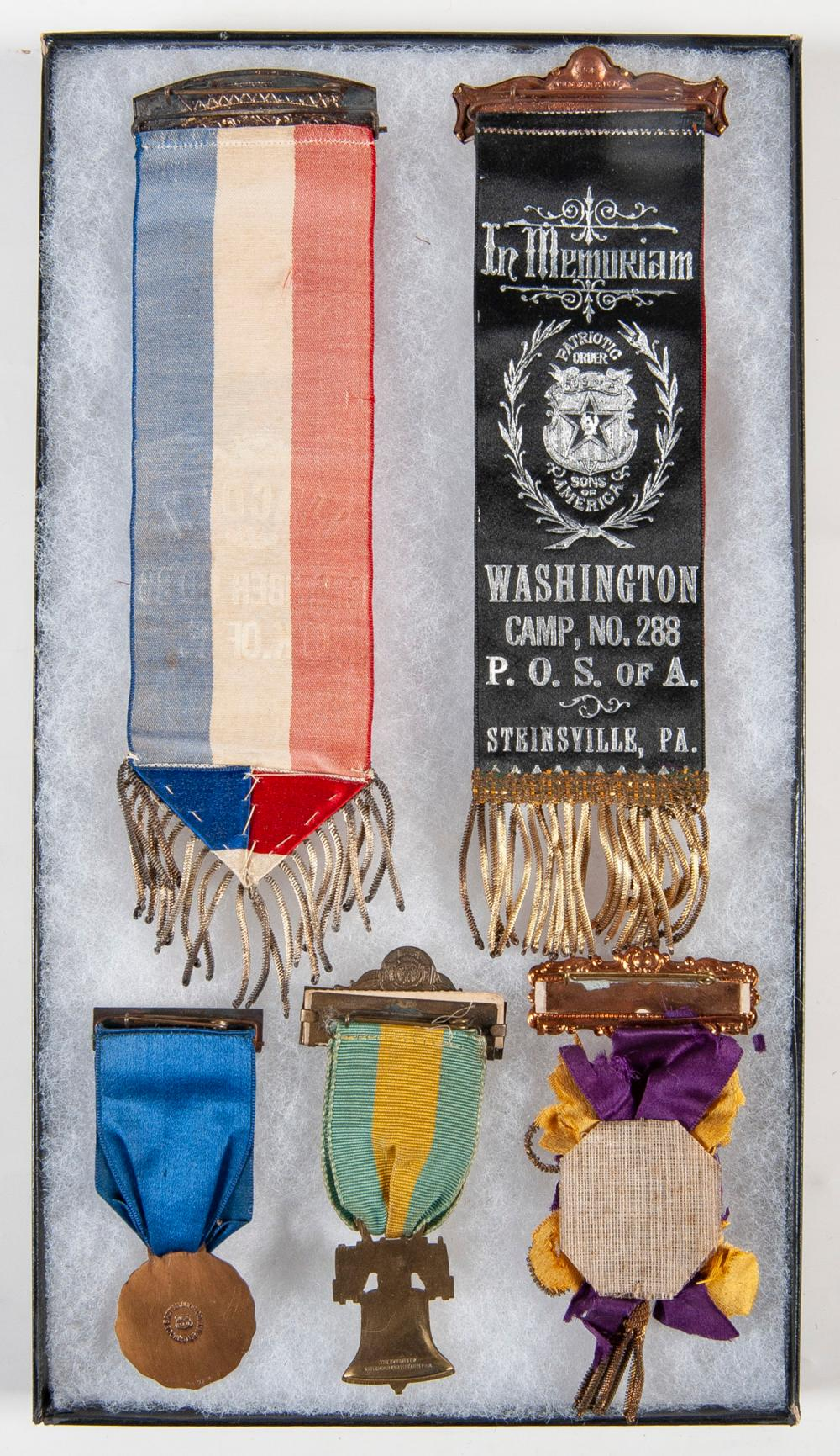Collection of 30 Militaria Ribbons and Medals