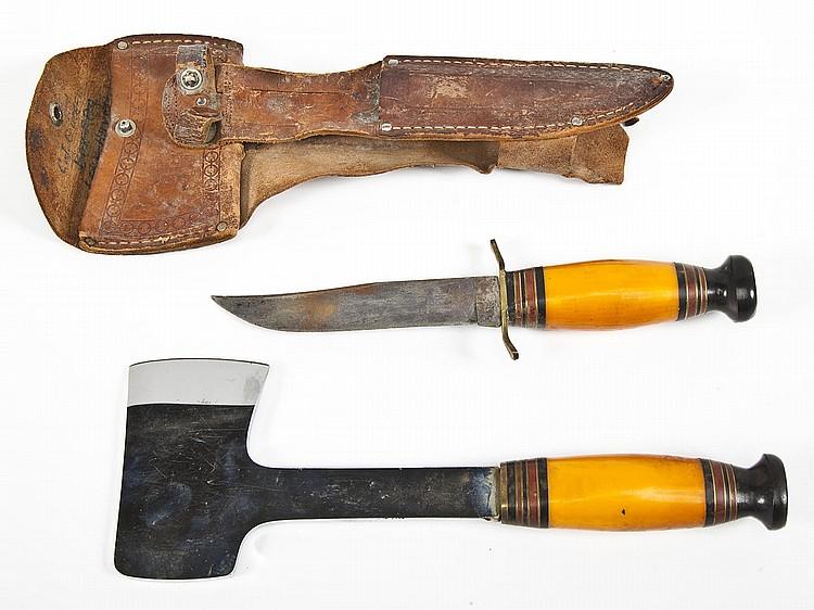 Vintage Kinfolks Hatchet and Knife Set