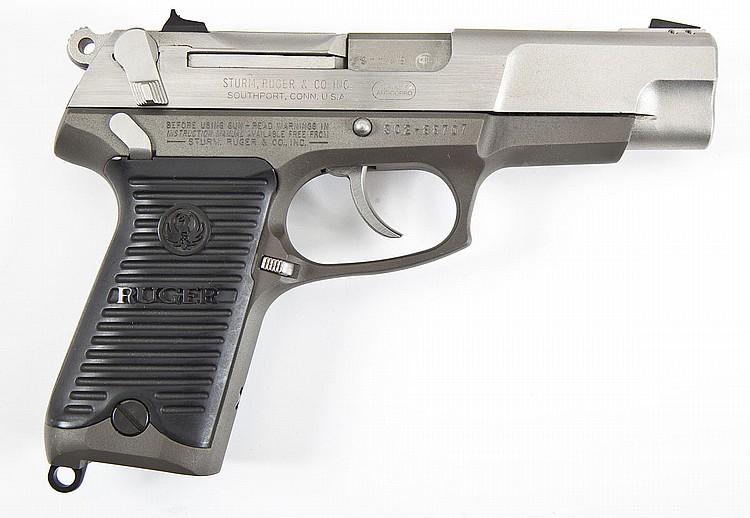Ruger P85 MK II Pistol - 9mm Cal