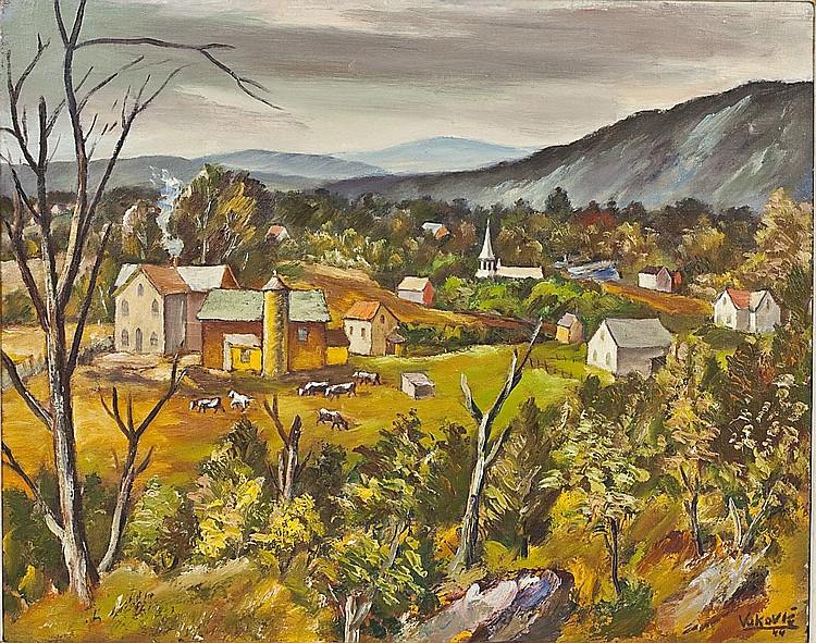 Marko Vukovic (Yugoslavian/American, 1892-1973)
