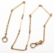 10K Gold Watch Chain
