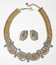 Hattie Carnegie Necklace & Earrings Set