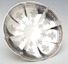 Towle Sterling Scalloped Footed Dish
