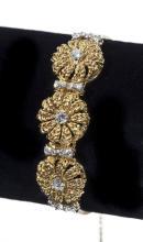 18K Jabel Add-A-Link Diamond Bracelet