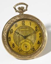 14K Dudley Masonic Pocketwatch Model 1