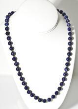 14K & Lapis Bead Necklace