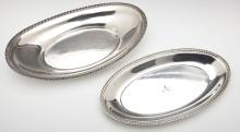 2 Sterling Bread Trays incl Gorham