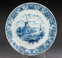 Delft Scenic Charger Marked AK