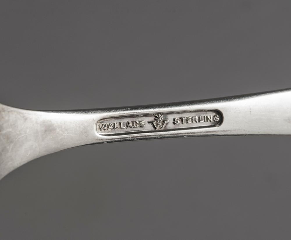 """Debutante by Wallace Sterling Silver Teaspoon 6 1//8/"""""""