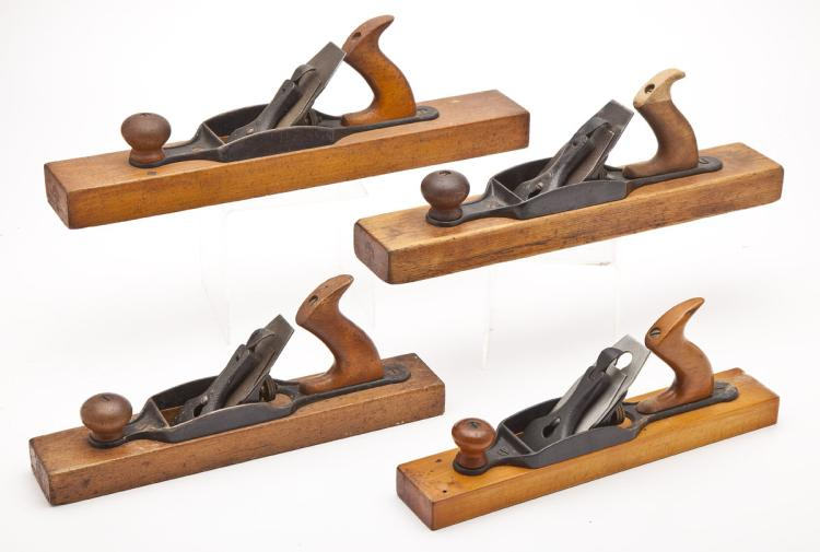 Lot 309: 4 Woodworking Planes incl. Stanley 26, 27, 28, 29