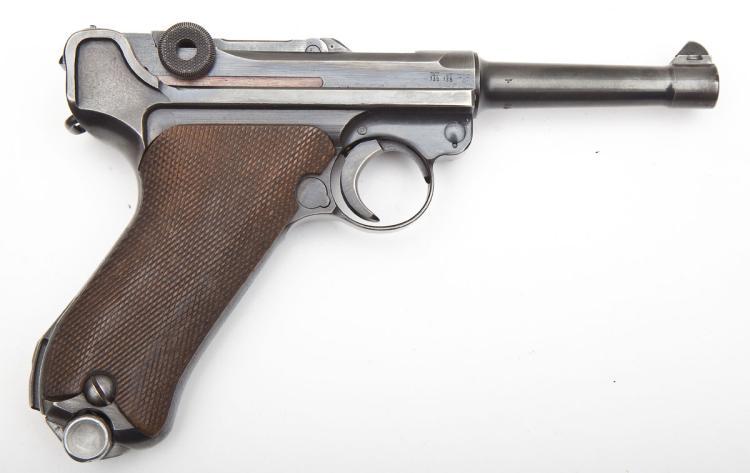 German BYF-42 Luger Pistol - 9mm Cal.