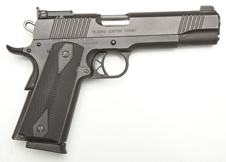 Kimber Classic Custom Target Pistol - .45 Auto