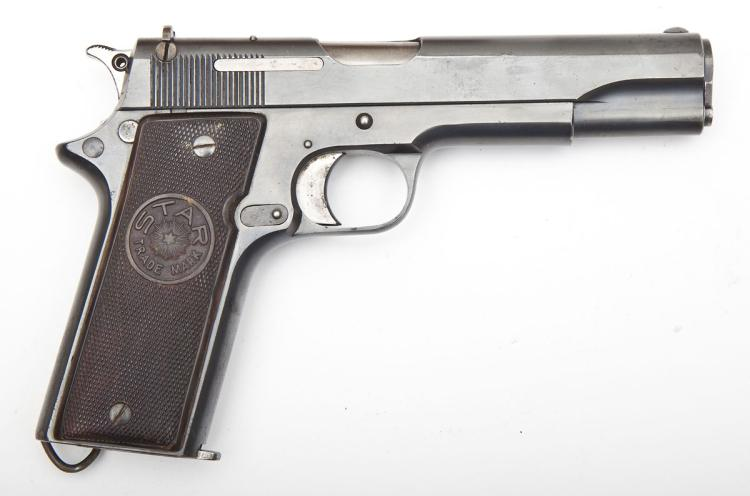 Star Model Super A Pistol - 9mm Largo Cal.