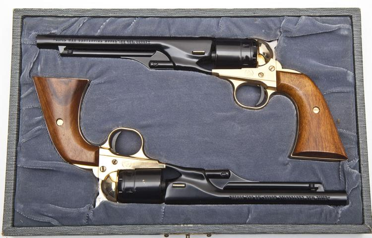 Colt Cased Set of Civil War Centennial Pistols
