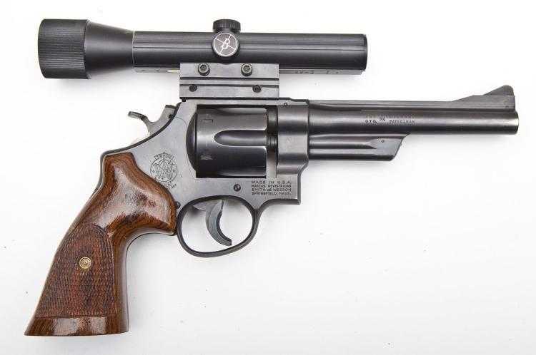 S&W Model 28-2 Revolver - .357 Magnum Cal.