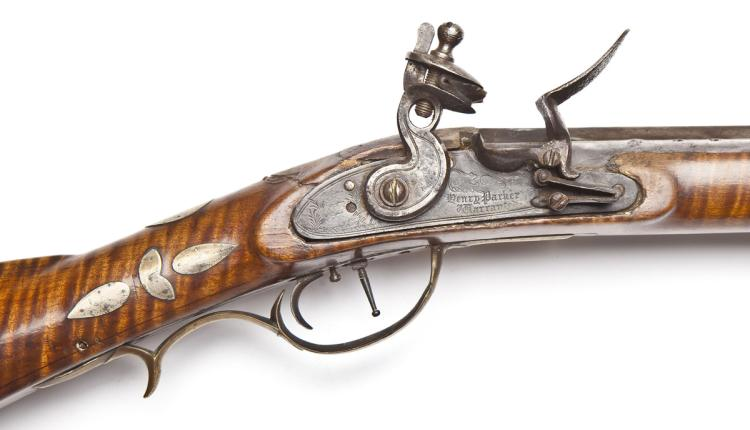 PA Long Rifle with Henry Parker Lock