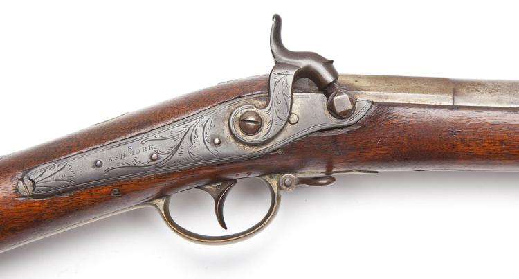 19th Century G. Capen Percussion Musket