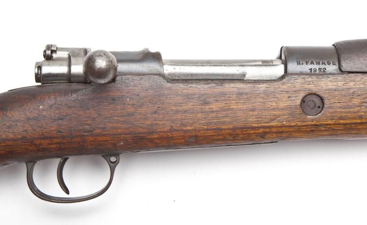 R. Famage (1952) Mauser Rifle - .30-06 Cal.