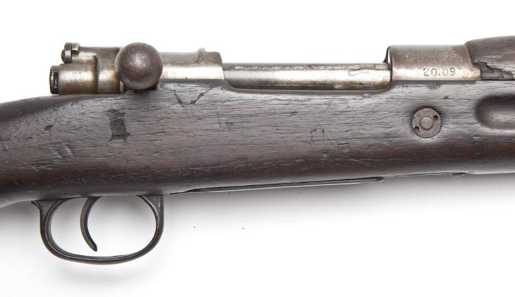 Unmarked Mauser Rifle - 8mm Cal.