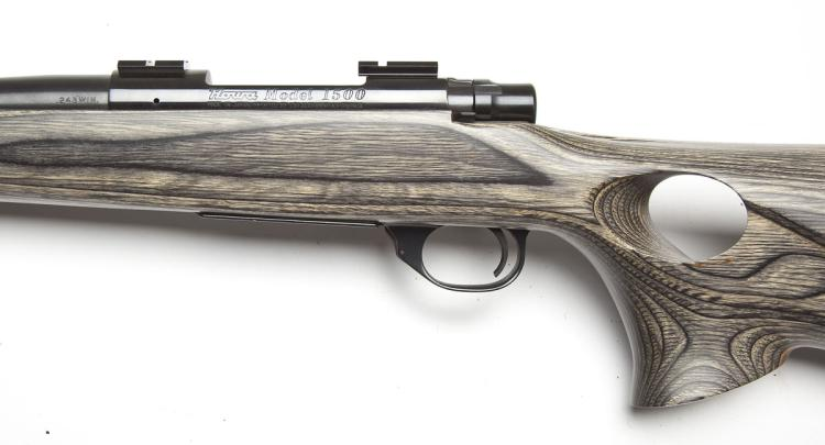 Howa M-1500 Thumbhole Sporter Rifle -  243 Cal