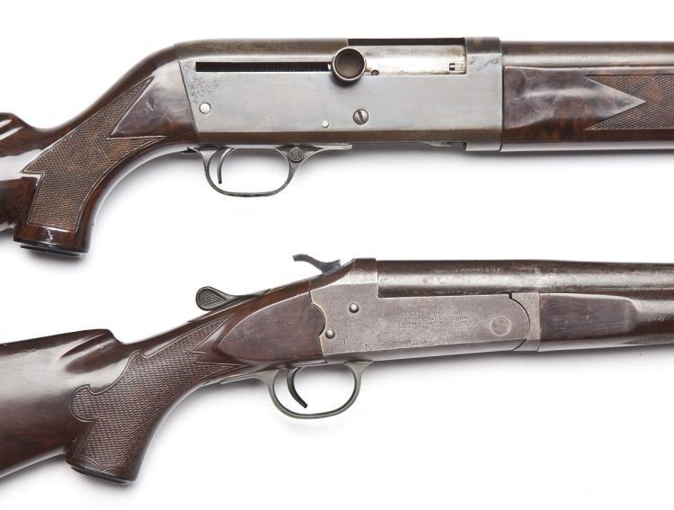 2 Stevens Shotguns (Model 124 & Model 1078)