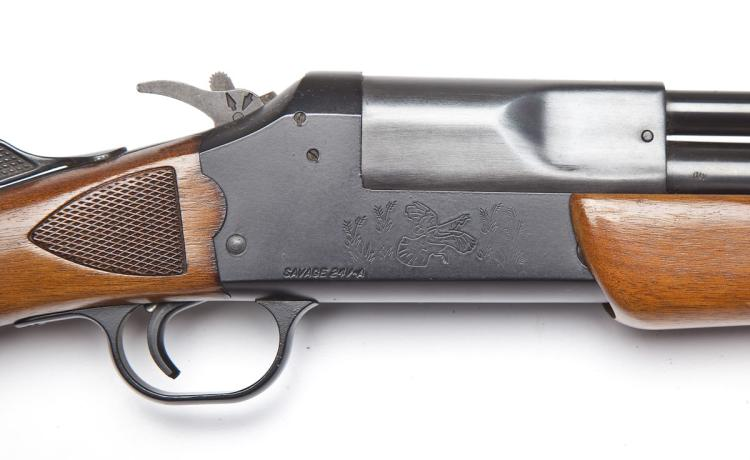 Savage Model 24V-A Combination - .222 Rem./20 Ga.