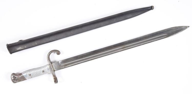 Argentine 1891 Mauser Bayonet & Sheath