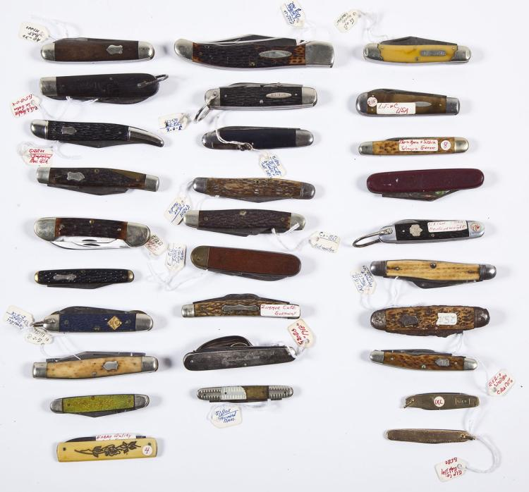 Group of 29 Vintage Pocket Knives
