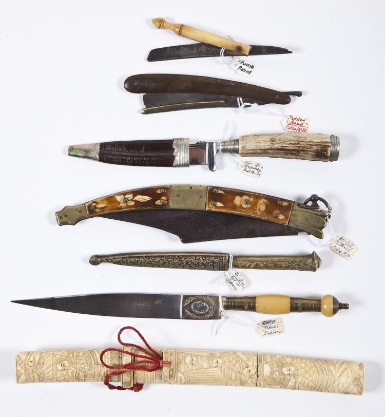 Group of 7 Foreign Made Blades