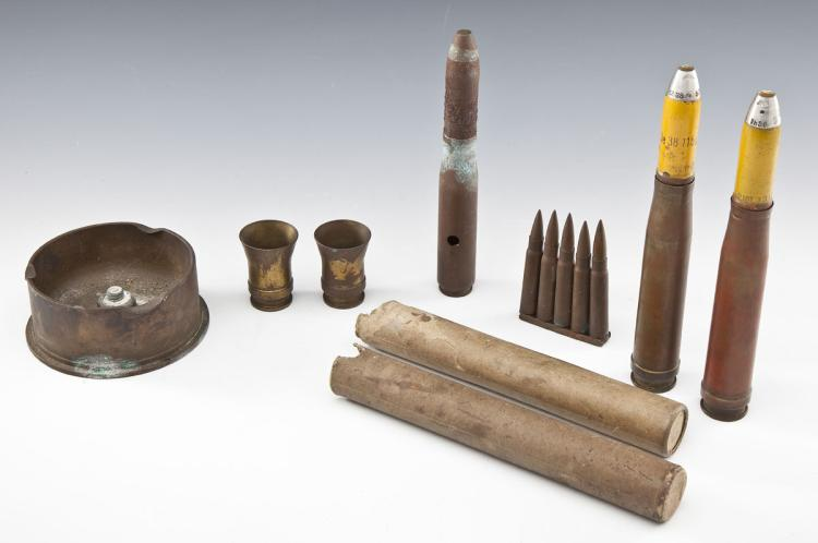 WWII Era German/US Ordnance and Trench Art