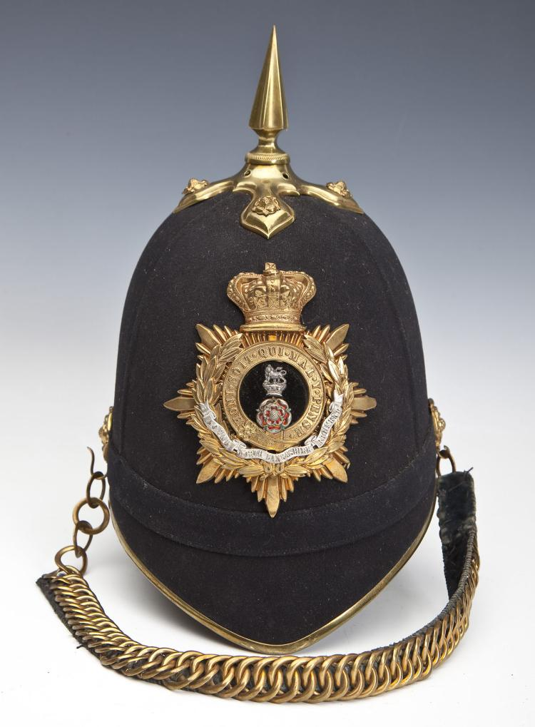 Home Service Helmet of Col. Hugh F. Coleridge
