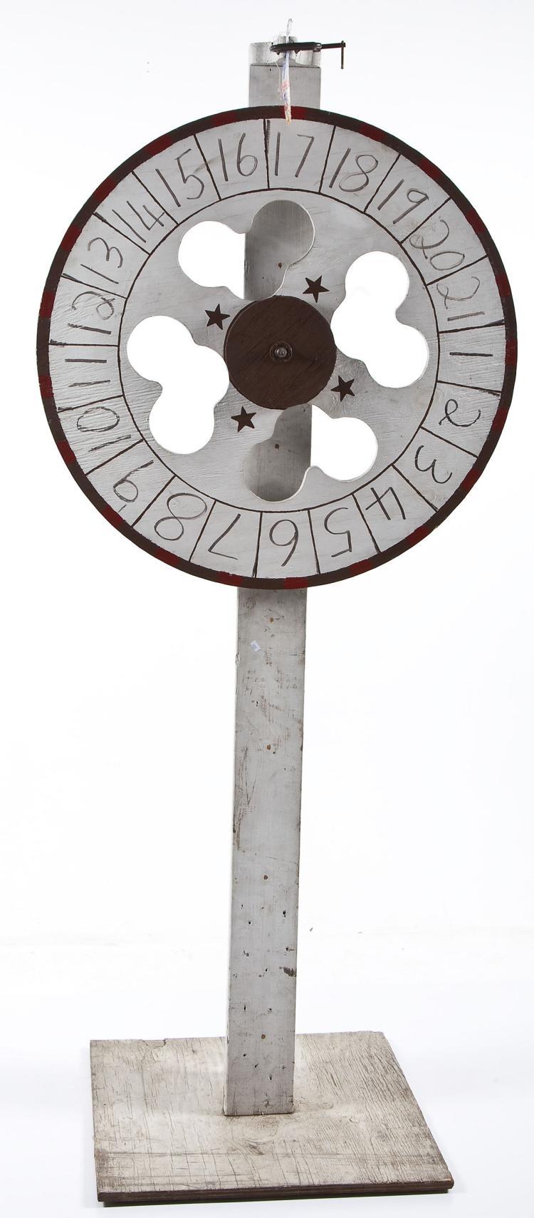 Carnival Roulette Wheel
