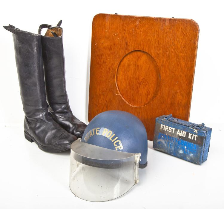 PA State Police Vintage Accessory Grouping