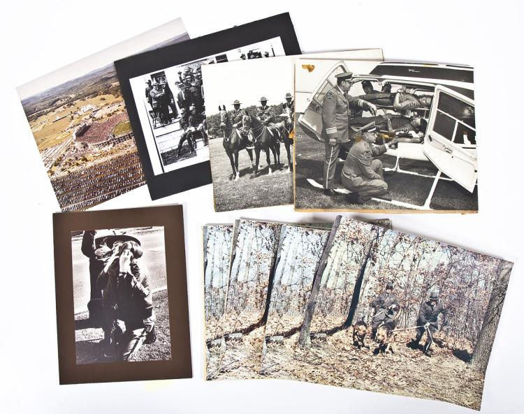 10 Reprinted State Police Photographs & Posters