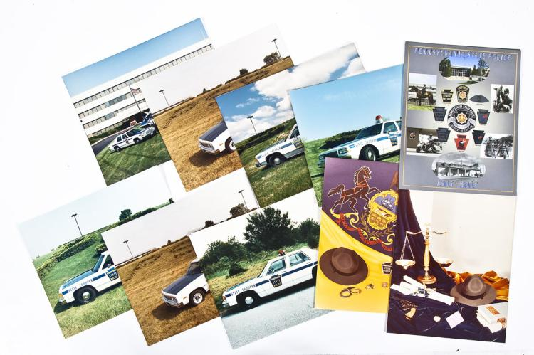 58 Reprinted State Police Photographs & Posters
