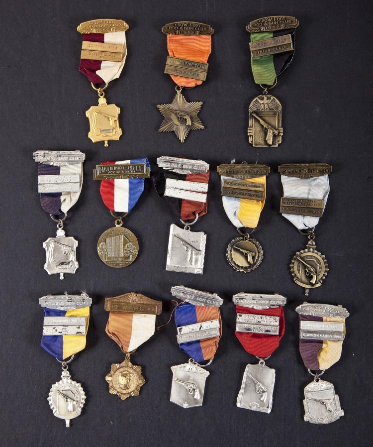 Group of Marksmanship Medals