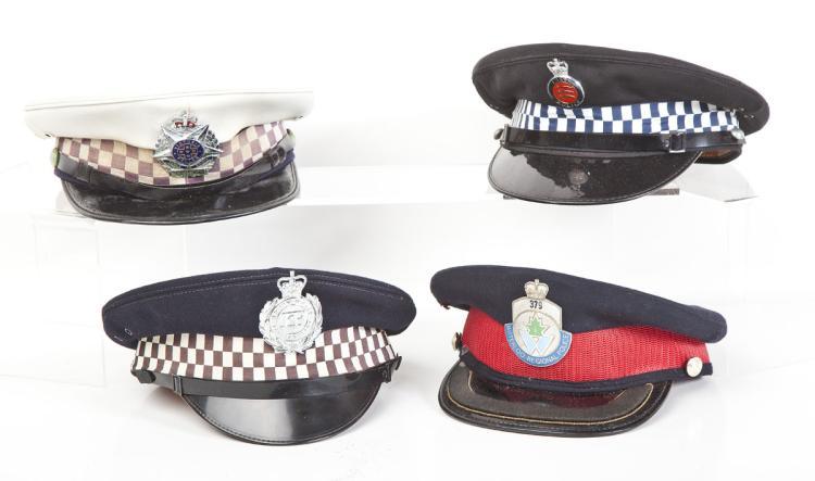 4 British Caps Inc. Waterloo & Essex Police