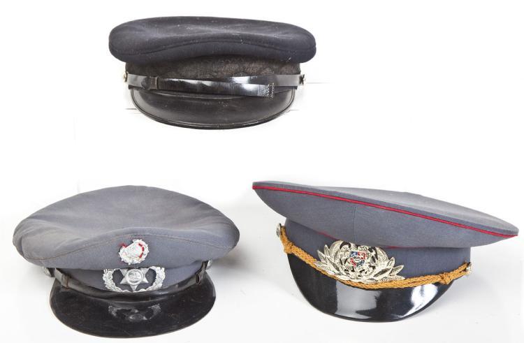 3 Miscellaneous European Police Caps