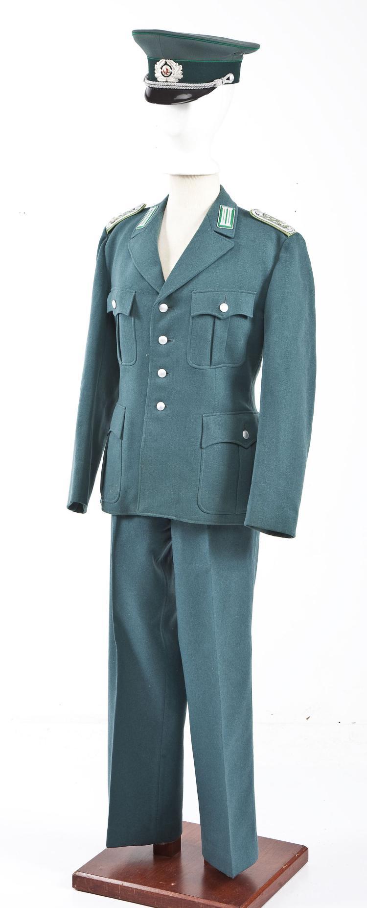 German Police Sergeant's Uniform