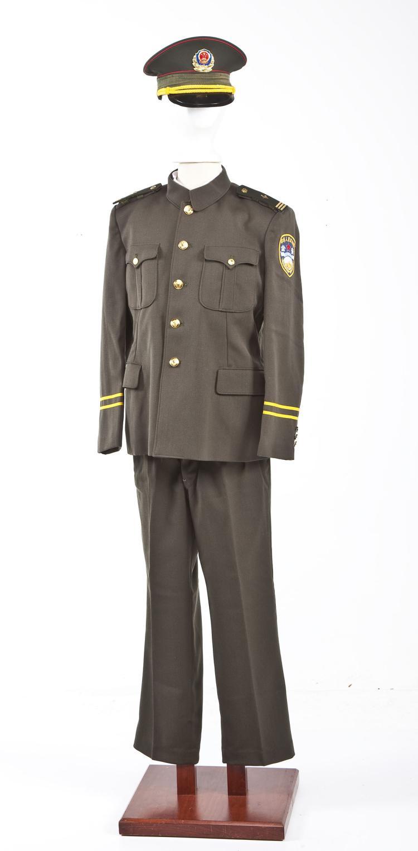 South Korean Police Uniform