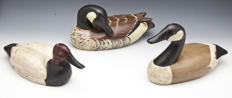 3 Decoys including G. Lowenthal