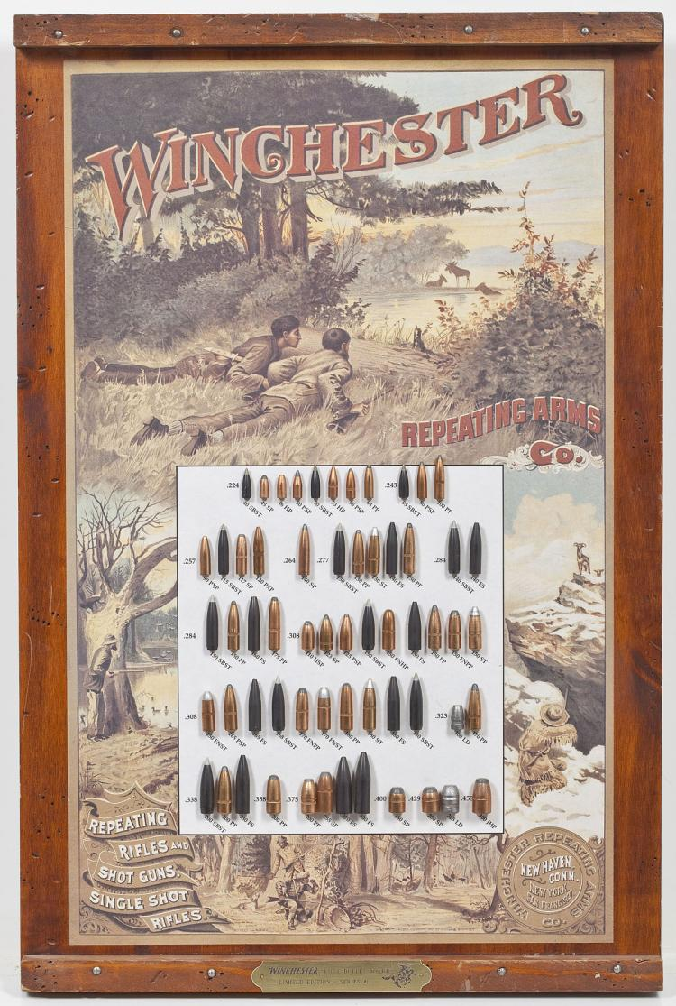 Winchester Bullet Display Board