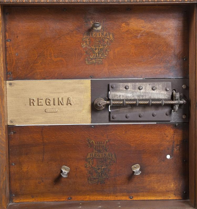 Regina orchestral 21 disc music box for Orchestral house music