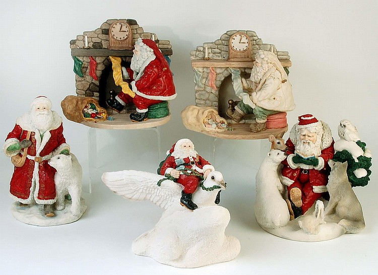 Legends of santa figurines